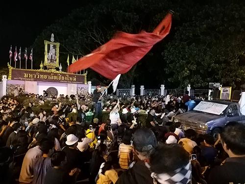 デモ@チェンマイ大学