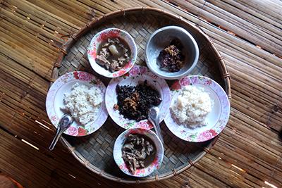 ラフ族のお正月(2)豚肉料理