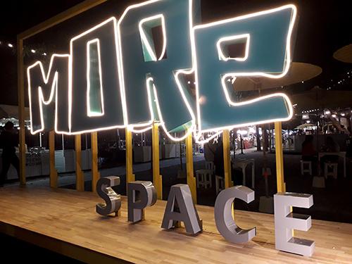 新しいスペース、More Space