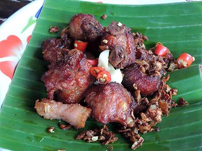 北部料理の店、「ハーン・トゥン・ジアンマイ」